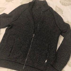 Banana Republic zip up sweater